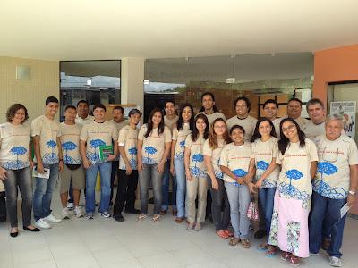 Grupo de pesquisadores do Museu Goeldi que participam dos trabalhos de campo em Curuçá