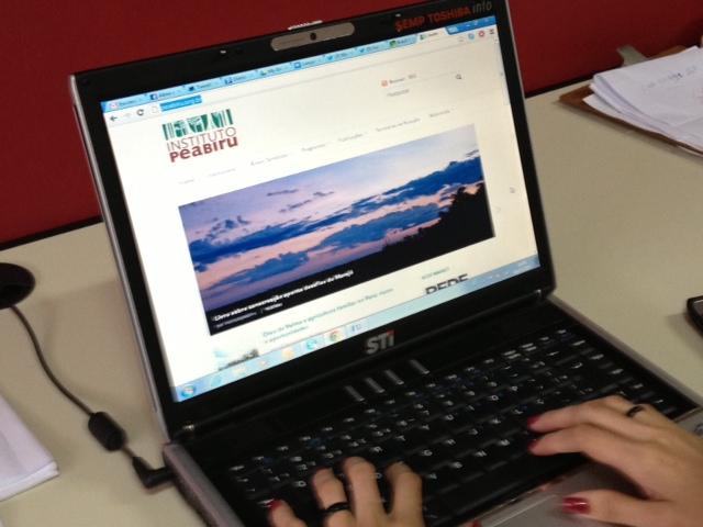Com nova home, website do Instituto Peabiru destaca informações e notícias