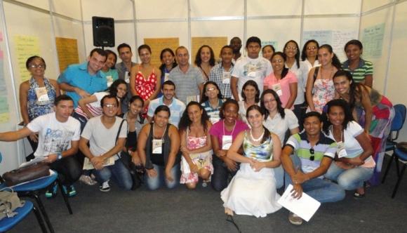 Participante da oficina de EBC