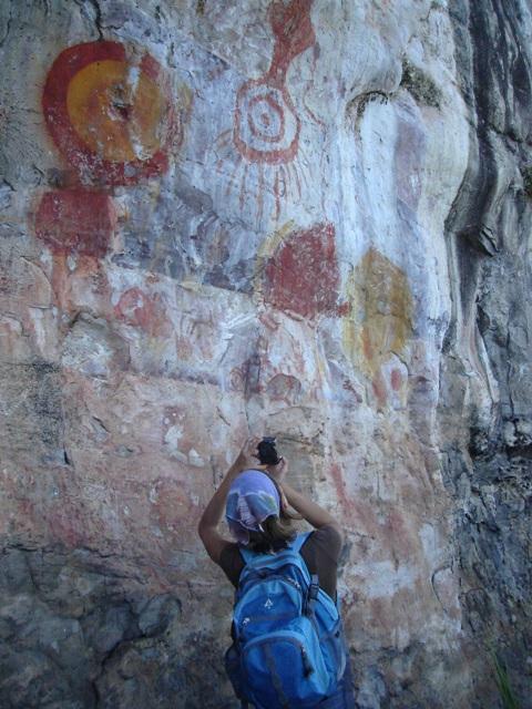 Parque Estadual de Monte Alegre guarda sítios arqueológicos e pinturas rupestres dos primeiros povos da Amazônia (Foto: Ana Gabriela Fontoura)