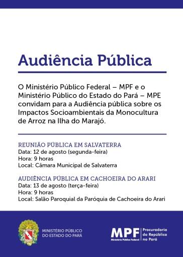 convite_Audiências Públicas