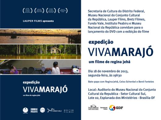 Expedição Viva Marajó em Brasília nesta segunda-feira, 18 de novembro