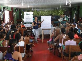 Equipe realizou oficinas de apresentação dos objetivos do projeto