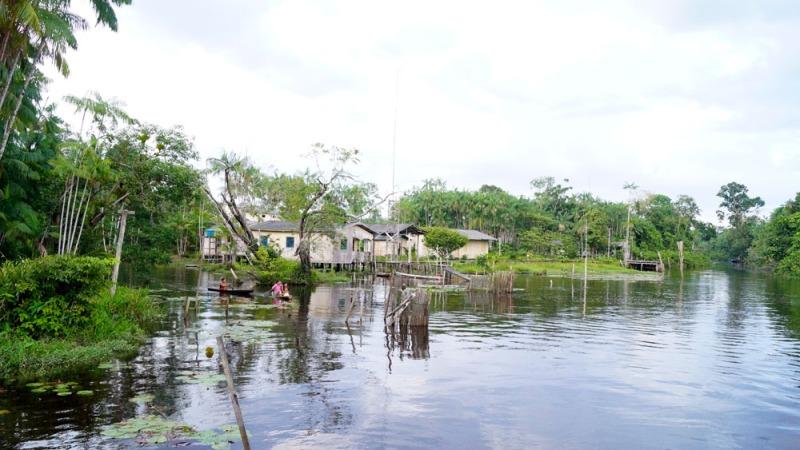 Comunidade rio Canaticu