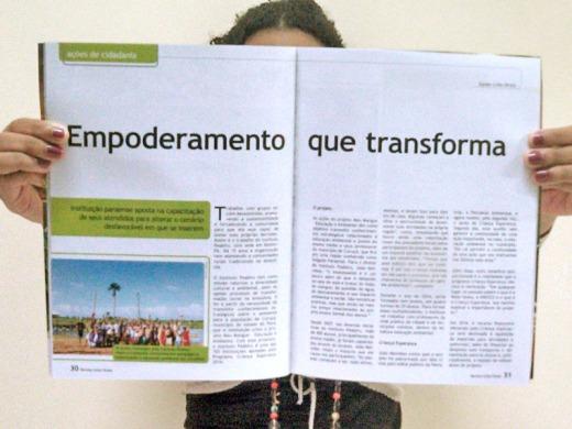 Instituto Peabiru é tema de matéria da revista Linha Direta, na edição de março