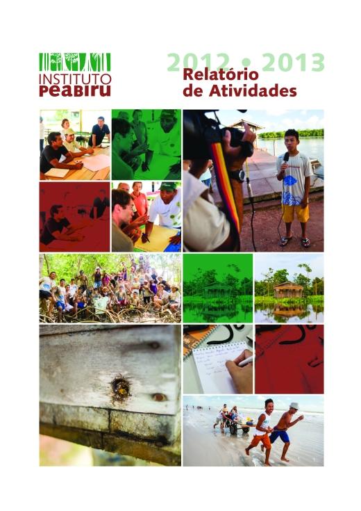 Capa RELATÓRIO 2012 • 2013