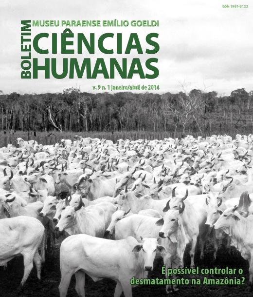 Artigo de João Meirelles é capa do Boletim de Ciências Humanas do Museu Paraense Emílio Goeldi